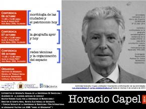 HORACIO CAPEL_AFICHE