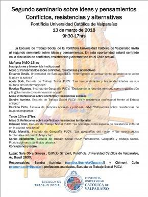 Convocatoria seminario 2018
